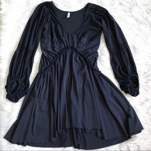 HIGH USE by Claire Campbell Navy Blue Dress